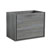 "30"" Ocean Gray Cabinet Only Side View"