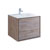 "30"" Rustic Natural Wood Cabinet with Sink Product View"