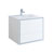 "30"" Glossy White Cabinet with Sink Product View"