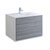 "36"" Glossy Ash Gray Cabinet with Sink Product View"