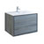 "36"" Ocean Gray Cabinet with Sink Product View"