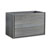 "36"" Ocean Gray Cabinet Only Side View"