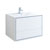 "36"" Glossy White Cabinet with Sink Product View"