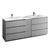 Gray with Sinks Product View