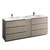 Gray Wood with Sinks Product View