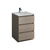 "24"" Gray Wood Cabinet with Sink Product View"