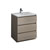 "30"" Gray Wood Cabinet with Sink Product View"