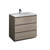 "36"" Gray Wood Cabinet with Sink Product View"