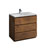 "36"" Rosewood Cabinet with Sink Product View"