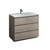 "42"" Gray Wood Cabinet with Sink Product View"