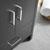 "24"" Dark Gray Oak Cabinet with Sink Handles"