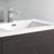 "30"" Dark Gray Oak Cabinet with Sink Top"