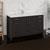 Dark Gray Oak Single Cabinet with Sink Side View