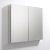 "Fresca 40"" Wide x 36"" Tall Bathroom Medicine Cabinet w/ Mirrors (2 Mirrored Doors), 39-1/2"" W x 5"" D x 36"" H"