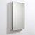 "Fresca 20"" Wide x 36"" Tall Bathroom Medicine Cabinet w/ Mirrors (1 Mirrored Door), 19-1/2"" W x 5"" D x 36"" H"