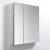 "Fresca 30"" Wide x 36"" Tall Bathroom Medicine Cabinet w/ Mirrors (2 Mirrored Doors), 29-1/2"" W x 5"" D x 36"" H"