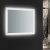 """24"""" x 30"""" Silver Hortizontal Hung Angle View LED On"""