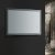 """24"""" x 36"""" Silver Hortizontal Hung Angle View LED Off"""