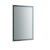 """24"""" x 36"""" Silver Vertical Hung Product View LED Lighting Off"""