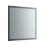 """30"""" x 30"""" Silver Product View LED Lighting Off"""