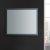 "36"" x 30"" Silver Hortizontal Hung View LED Lighting Off"