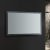 """48"""" x 30"""" Silver Hortizontal Hung Angle View LED Off"""