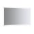 """48"""" x 30"""" Silver Hortizontal Hung Product View LED Lighting On"""