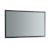 """48"""" x 30"""" Silver Hortizontal Hung Product View LED Lighting Off"""