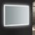 """48"""" x 36"""" Silver w/ LED Lighting and Defogger"""