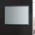 "48"" x 36"" Silver Hortizontal Hung View LED Lighting Off"