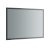 """48"""" x 36"""" Silver Hortizontal Hung Product View LED Lighting Off"""