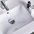 "48"" Regal Gray Vanity Set Sink Close Up"