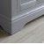 """Windsor 24"""" Gray Door Hinge View"""