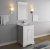"Fresca Windsor 24"" Matte White Traditional Bathroom Vanity Set w/ Mirror, Base Cabinet: 24"" W x 20-3/8"" D x 34-5/16"" H"