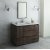 "Fresca Formosa 48"" Floor Standing Modern Bathroom Vanity Set w/ Mirror, Base Cabinet: 48"" W x 20-3/8"" D x 34-7/8"" H"