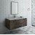 """Fresca Formosa 48"""" Wall Hung Modern Bathroom Vanity Set w/ Mirror, Base Cabinet: 48"""" W x 20-3/8"""" D x 20-5/16"""" H"""