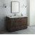 "Fresca Formosa 54"" Floor Standing Modern Bathroom Vanity Set w/ Mirror, Base Cabinet: 54"" W x 20-3/8"" D x 34-7/8"" H"