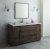 "Fresca Formosa 60"" Floor Standing Single Sink Modern Bathroom Vanity Set w/ Mirror, Base Cabinet: 60"" W x 20-3/8"" D x 34-7/8"" H"