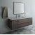 """Fresca Formosa 60"""" Wall Hung Single Sink Modern Bathroom Vanity Set w/ Mirror, Base Cabinet: 60"""" W x 20-3/8"""" D x 20-5/16"""" H"""