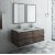 "Fresca Formosa 48"" Wall Hung Double Sink Modern Bathroom Vanity Set w/ Mirrors, Base Cabinet: 48"" W x 20-3/8"" D x 20-5/16"" H"