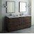 "Fresca Formosa 72"" Floor Standing Double Sink Modern Bathroom Vanity Set w/ Mirrors, Base Cabinet: 72"" W x 20-3/8"" D x 34-7/8"" H"