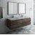 "Fresca Formosa 60"" Wall Hung Double Sink Modern Bathroom Vanity Set w/ Mirrors, Base Cabinet: 60"" W x 20-3/8"" D x 20-5/16"" H"
