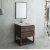 "Fresca Formosa 30"" Floor Standing Modern Bathroom Vanity Set w/ Open Bottom & Mirror, Base Cabinet: 30"" W x 20-3/8"" D x 34-7/8"" H"