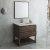 "Fresca Formosa 36"" Floor Standing Modern Bathroom Vanity Set w/ Open Bottom & Mirror, Base Cabinet: 36"" W x 20-3/8"" D x 34-7/8"" H"