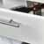 White Drawer Opened View