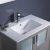"""30"""" Gray Undermount Sink View"""