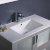 """36"""" Gray Undermount Sink View"""