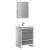 """24"""" Ash Gray Angle Product View"""