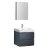 "24"" Dark Slate Gray Angle Product View"