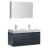 """48"""" Dark Slate Gray Double Sink Angle Product View"""
